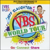 Jeff Slaughter VBS World Tour: VBS Split-Track Accompaniment CD