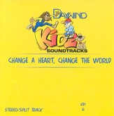Change A Heart, Change The World, Accompaniment CD