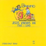 Jesus Knows Me (This I Love), Accompaniment CD
