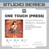 One Touch [Press] - Original Key w/ Background Vocals [Music Download]