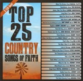 Top 25 Country Songs of Faith