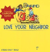 Love Your Neighbor, Accompaniment CD