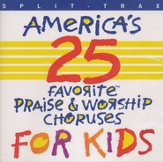 America's 25 Praise & Worship for Kids, Split Trax CD
