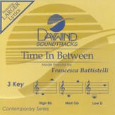 Time In Between, Accompaniment CD
