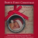 Baby's First Christmas: Soothing Holiday Lullaby CD &  Collectible Photo Frame Ornament