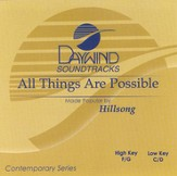 All Things Are Possible, Accompaniment CD