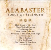 Alabaster: Songs of Stength CD