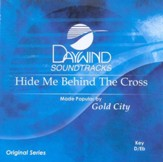 Hide Me Behind the Cross, Accompaniment CD