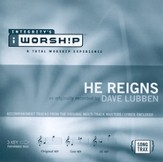 He Reigns, Accompaniment CD