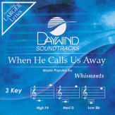 When He Calls Us Away, Accompaniment CD