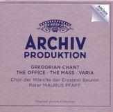 Gregorian Chant: The Office/The Mass-Varia 4 CDs