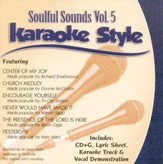 Soulful Sounds, Volume 5, Karaoke Style CD