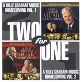 A Billy Graham Music Homecoming Vol 1 & 2 CD