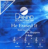 He Erased It, Accompaniment CD