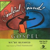 We're Blessed, Accompaniment CD