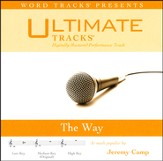 The Way (Medium Key Performance Track w/ Background Vocals) [Music Download]