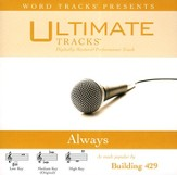 Always - Low Key Performance Track w/ Background Vocals [Music Download]
