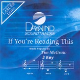 If You're Reading This, Accompaniment CD