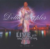 Live In Memphis CD
