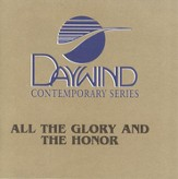 All The Glory and the Honor, Accompaniment CD