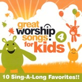 Great Worship Songs for Kids 4 CD