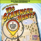 VBS Scavenger Hunt Split-Track Accompaniment CD