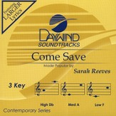 Come Save, Accompaniment CD