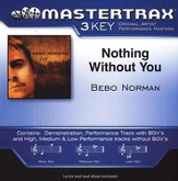 Nothing Without You, Accompaniment CD
