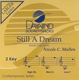 Still A Dream, Accompaniment CD