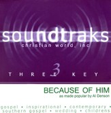 Because Of Him, Accompaniment CD