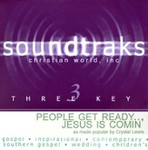 People Get Ready... Jesus Is Comin', Accompaniment CD