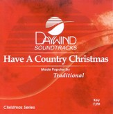 Have A Country Christmas, Accompaniment CD