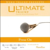 Press On (Medium Key Performance Track with Background Vocals) [Music Download]