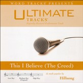 This I Believe (The Creed) [High Key Performance Track with Background Vocals] [Music Download]