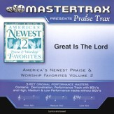 Great Is The Lord, Accompaniment CD