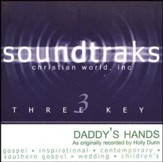 Daddy's Hands, Accompaniment CD