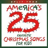 America's 25 Favorite Christmas Songs For Kids, Split-Track,  Compact Disc [CD]