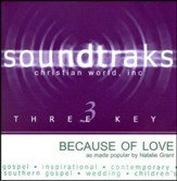 Because Of Love, Accompaniment CD