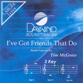 I've Got Friends That Do, Accompaniment CD