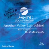 Another Valley Left Behind, Accompaniment CD