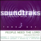 People Need the Lord - Low Key without Background Vocals [Music Download]