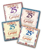America's 25 Favorite Old-Time Gospel Songs, Split Trax Volumes 1-4