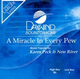 A Miracle In Every Pew, Accompaniment CD