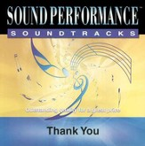 Thank You, Accompaniment CD
