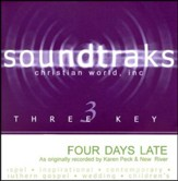 Four Days Late, Accompaniment CD