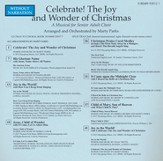 Celebrate! The Joy and Wonder of Christmas, Split-Track Accompaniment CD