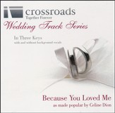 Because You Loved Me, Acc CD