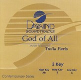God of All, Accompaniment CD