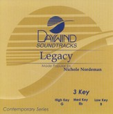 Legacy, Accompaniment CD