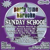 Party Tyme Karaoke: Sunday School (8+8 Track Version) CD